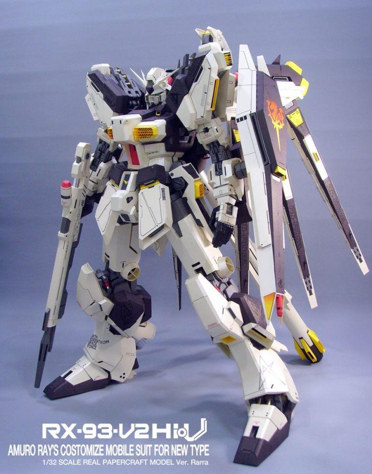 Papercraft Masterpiece: 1/32 RX-93 Nu2 Hi-Nu Gundam
