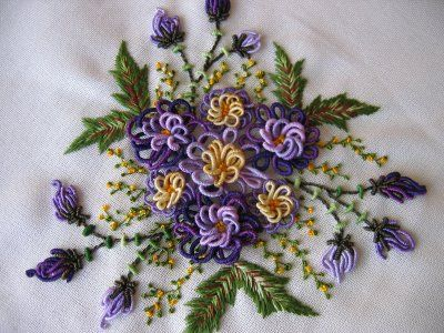 brazilian embroidery, It is nice to someone else loves this kind of embroidery.