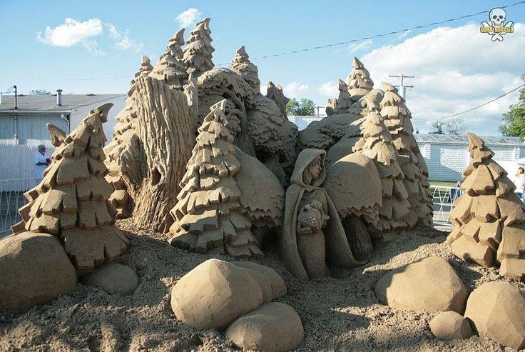 Το Αφηρημένο Blog: Sand Sculptures by Carl Jara. Absolutely Stunning!
