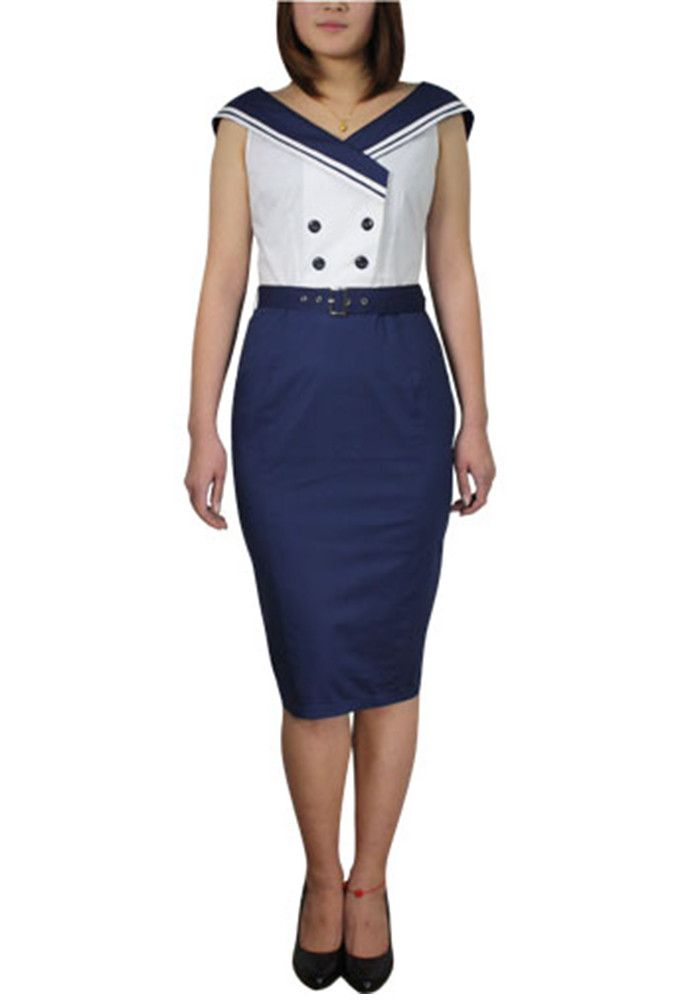 Chic Star - Sailor Pencil Dress