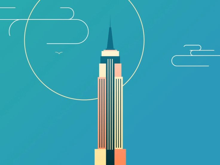 Dribbble - Empire State of Mind by Mike Russo