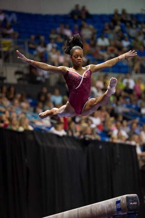 Gabby Douglas - 2012 Visa Championships - Day 1