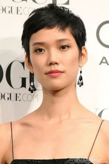 Incredible 1000 Ideas About Asian Pixie Cut On Pinterest Long Pixie Cuts Short Hairstyles Gunalazisus