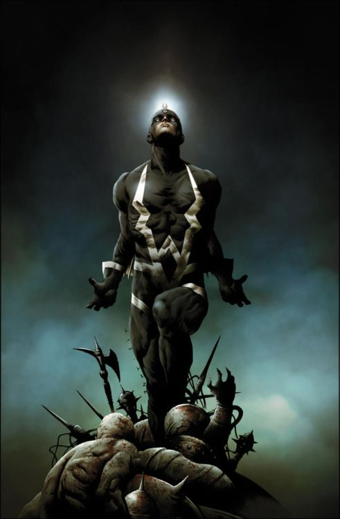 Rayo Negro.. or Black Bolt, to the layperson.