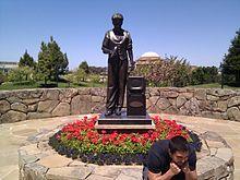 Statue of Philo T. Farnsworth at the Letterman Digital Arts Center in San Francisco.