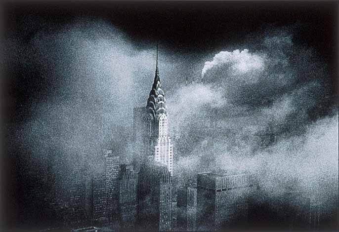 The Chrysler Building New York In The 1960 S