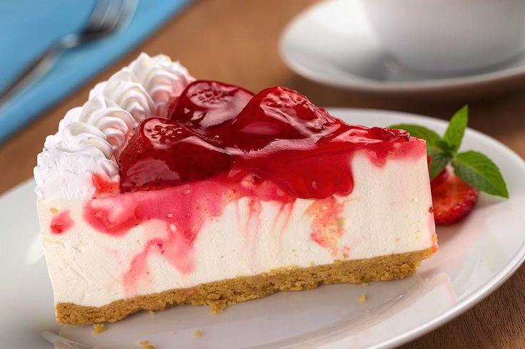 Receita de Cheesecake de tofu com morango – Mundo-Nipo