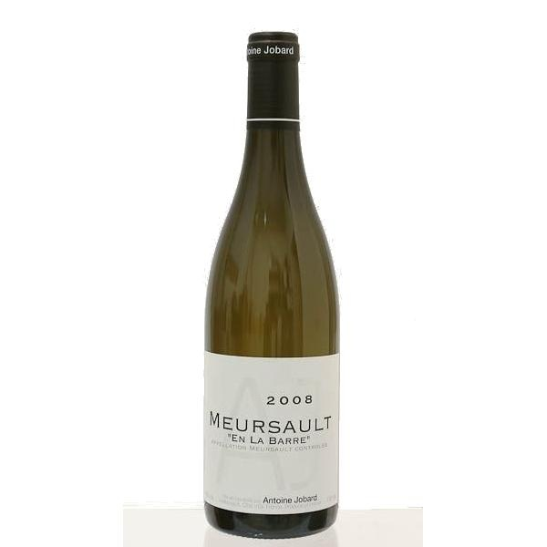 2008 Antoine Jobard Meursault en la Barre. Quite rich and round (compared with the Bourgogne Blanc tasted immediately beforehand!) though actually there is masses of acidity here. I think you'll have to wait quite a while for it to blossom.
