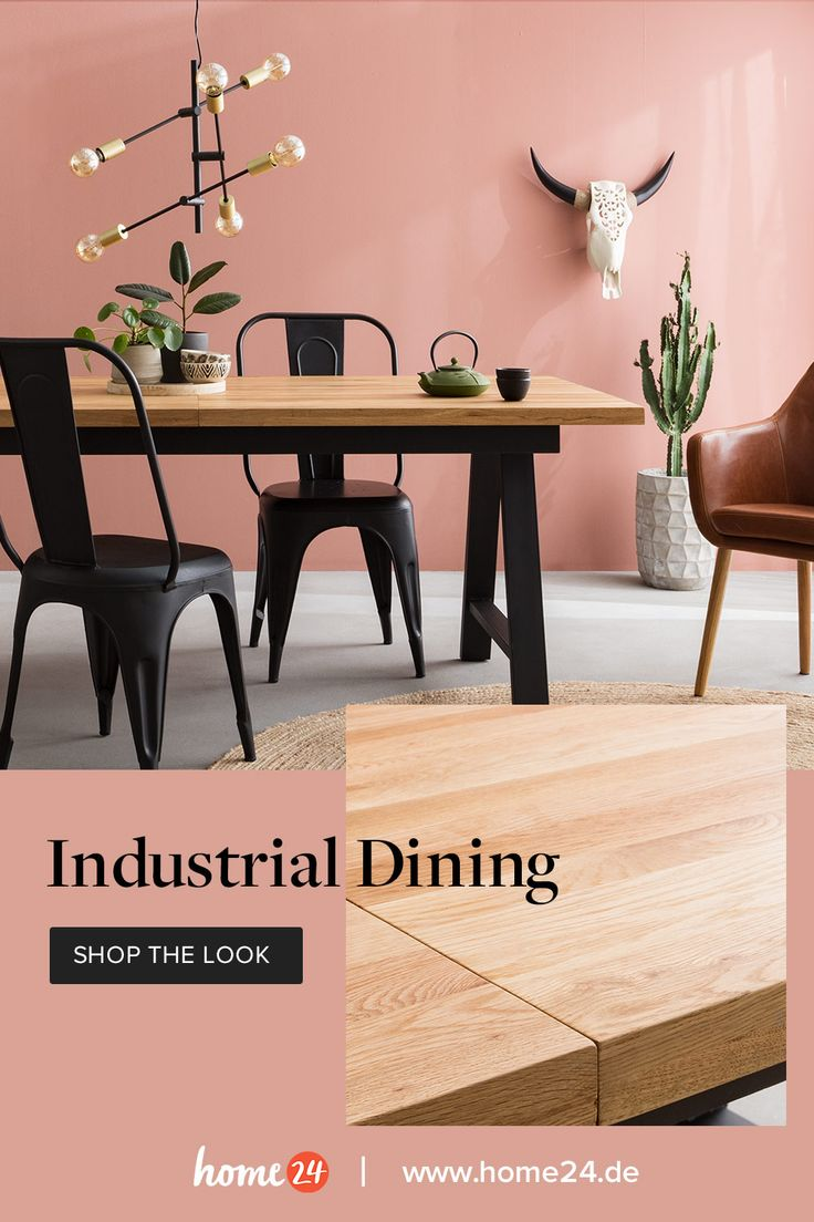 Industrial Dining – Shop the look