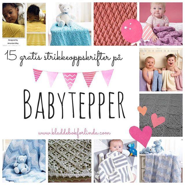 Babyteppe-bonanza  #strikkedilla #babyteppe #loveknitting #tantestrikk #strikking #strikk #knittersofinstagram #blogg #kladdebokforlinda