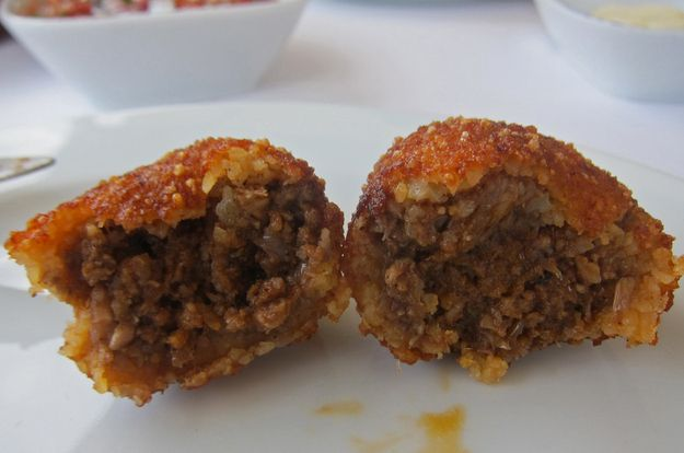 İçli Köfte /  21 Tantalizing Turkish Foods You'll Want Immediately (via BuzzFeed)