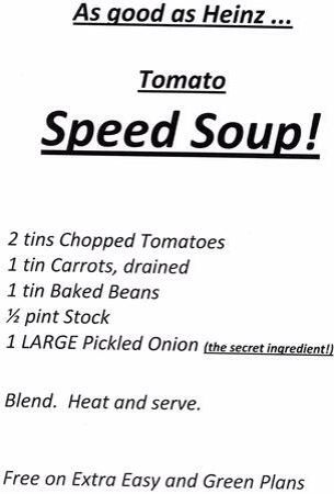 Speed soup