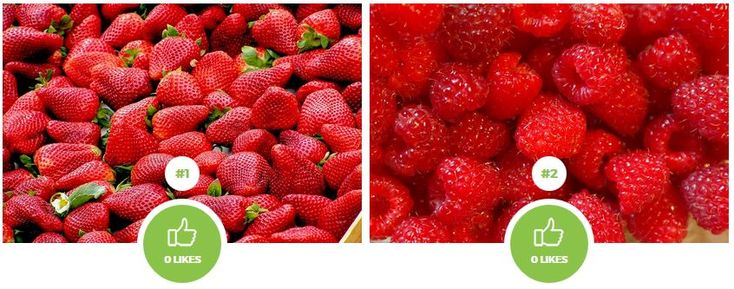 Which fruit is healthier? Strawberry or raspberry