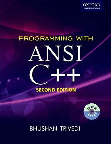 Programming with ANSI C++ (Oxford Higher Education) 2nd Edition Pdf Download
