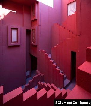 La Muralla Roja, Calpe, Espagne, 1973 - Ricardo Bofill / Photo Clément Guillaume