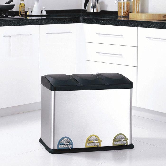 top 25+ best modern kitchen trash cans ideas on pinterest