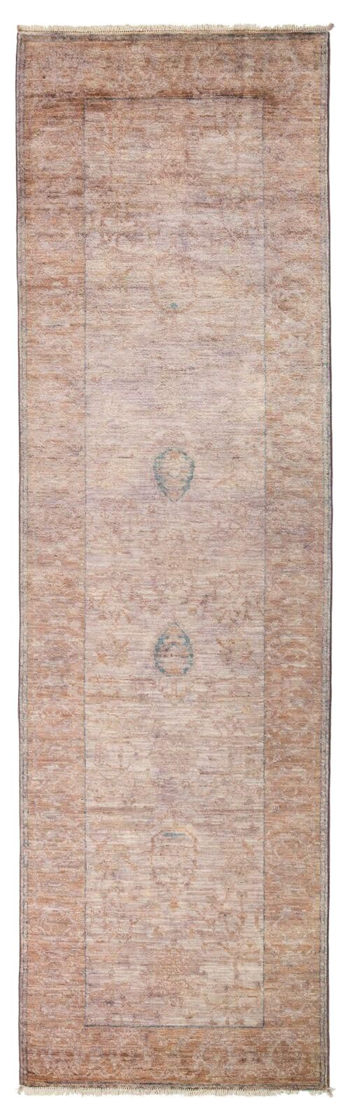In saturated, all-over dyes, these hand-knotted rugs have modern vibrancy. Originally a Moroccan, Traditional, or Ikat, the rugs reveal classic designs beneath their gorgeous colors. Whether a soft pastel or a vibrant hue, the rugs make bold chromatic statements.