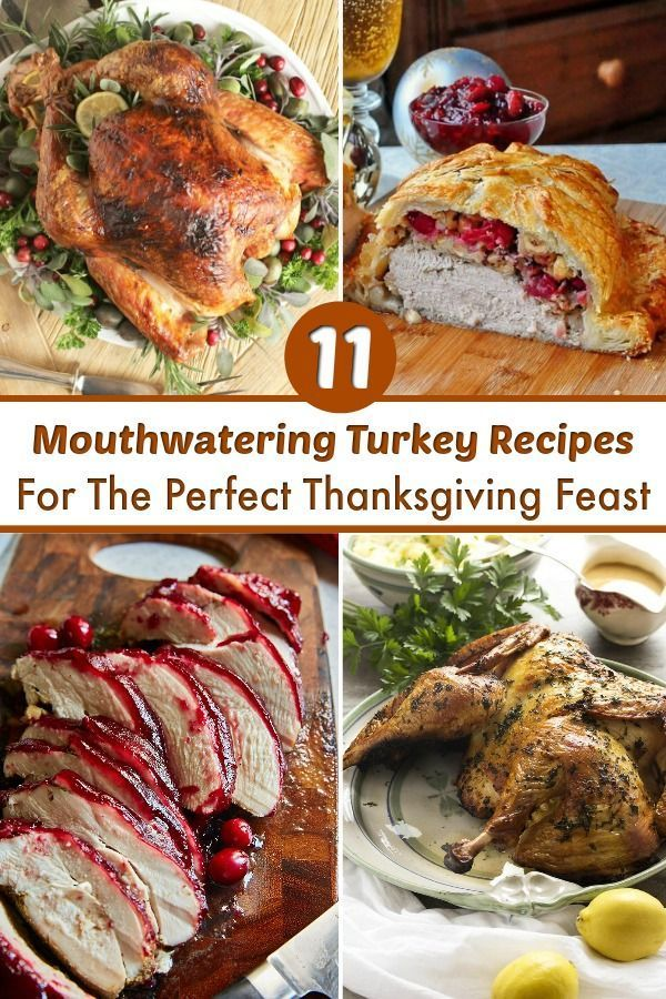 11 Turkey Recipes For The Best Ever Thanksgiving Dinner Turkey