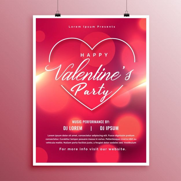 Free Valentines Day Flyer Templates Event Flyer Event Flyer Templates Flyer