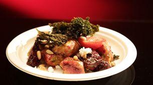 Sweet Potato and Buckwheat Gnocchi with Kale Pesto