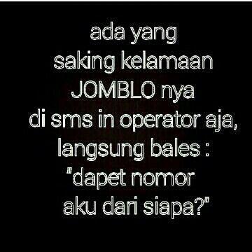 Jomblo ngenes