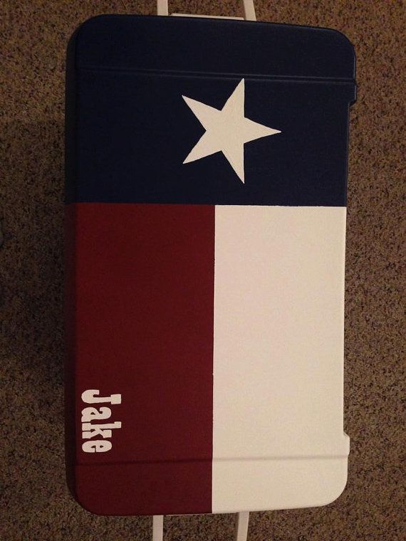 Texas Cooler. Get your YETI cooler form http://www.desotowarehouse.com/
