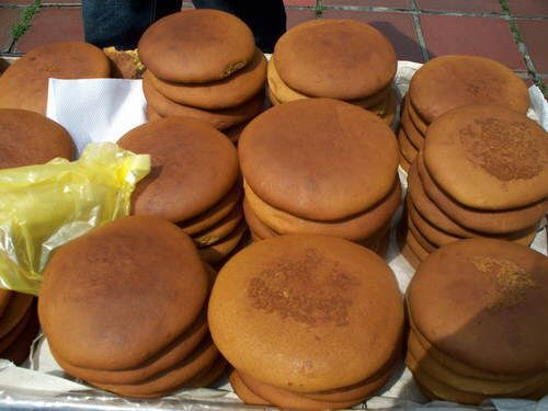 Cucas (careful with this word, it has a double entendre that is risqué in Spanish!). These are delicious soft cookies made with dark molasses, and they are sold on roadsides in Venezuela and Brazil. Delicious!