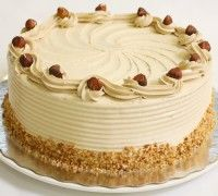 Hazelnoot schuimtaart - Bake my day - Recepten  