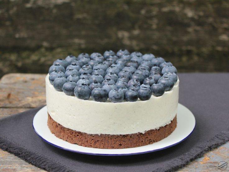 Túrós brownie-torta áfonyával | SweetHome