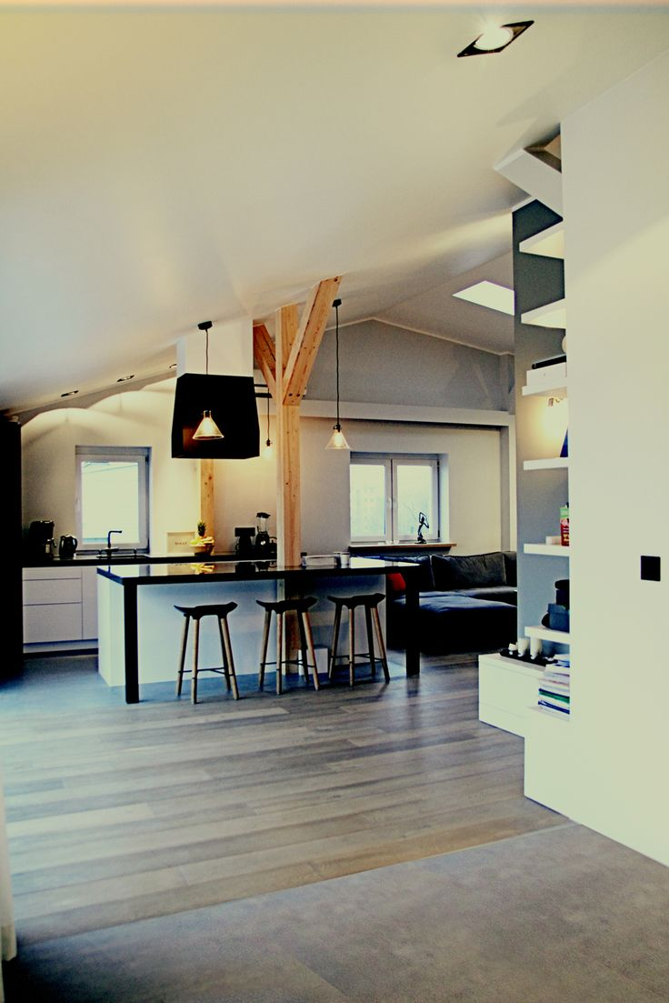 Lofts kitchen : cozy industrial and minimalizlizm. Warsaw, Poland. www.artandarchitecture.pl