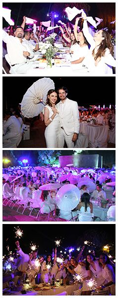 The 4th edition of Le Diner en Blanc - Queretaro, Mexico 2017