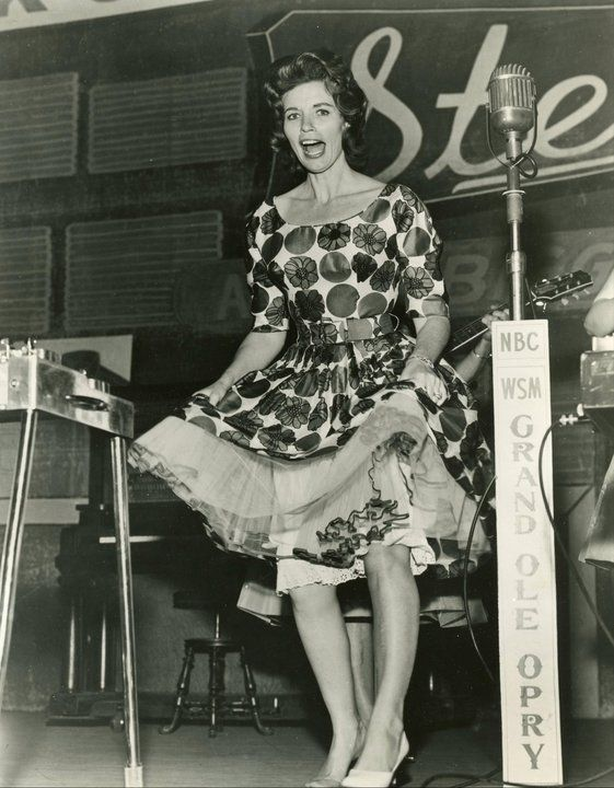 June Carter At Grand Ole Opry