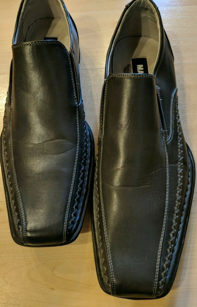 70acb1cf554 Men's Madden By Steve Madden M-Trace Dark Gray Slip-on Loafers/Shoes ...