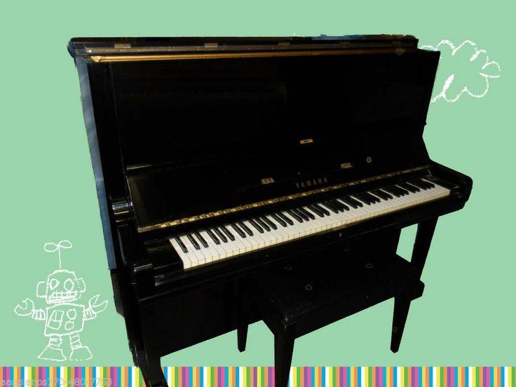 "YAMAHA U3 Upright Piano, 52"" High, gorgeous BLACK HG finish, TUNED can move  #Yamaha"