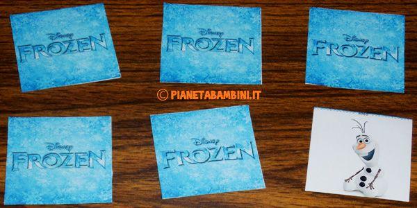 Gioco memory di frozen da stampare gratis giochi per for Memory da stampare per bambini