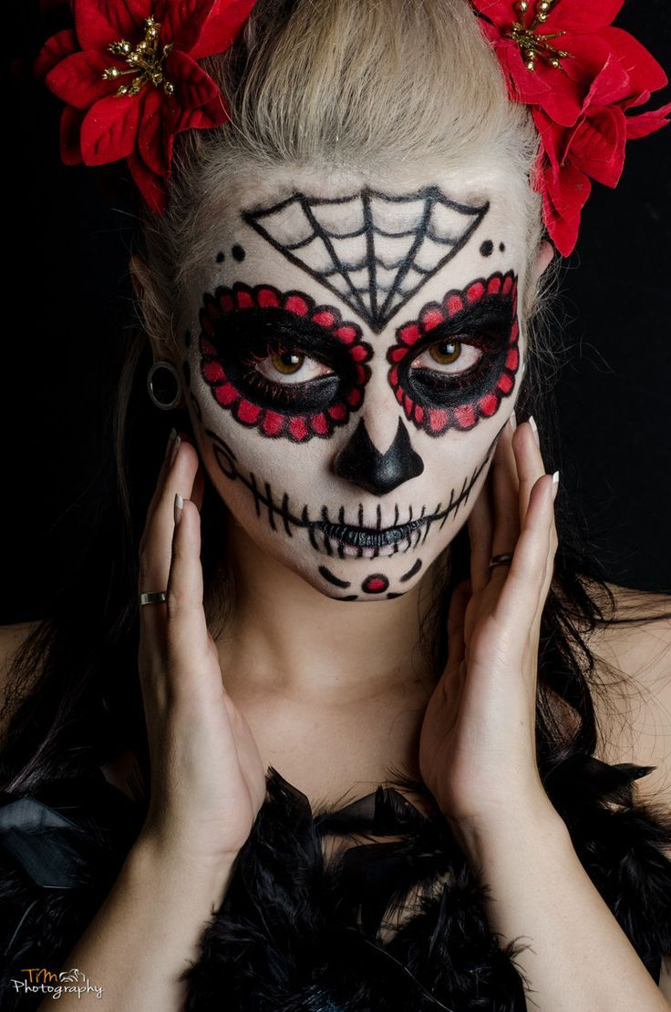 la catrina sugar skull make up halloween day of the dead by tim photography halloween. Black Bedroom Furniture Sets. Home Design Ideas