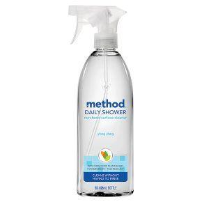 Method daily shower spray, ylang ylang