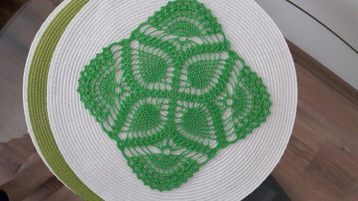 Zielony kwadracik