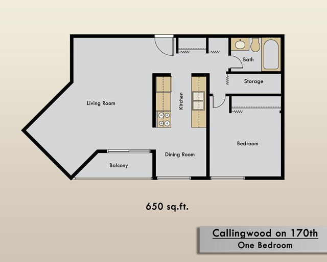 One Bedroom Apartment For Rent In Edmonton | Callingwood On 170th Apartments  | Edmonton Central |