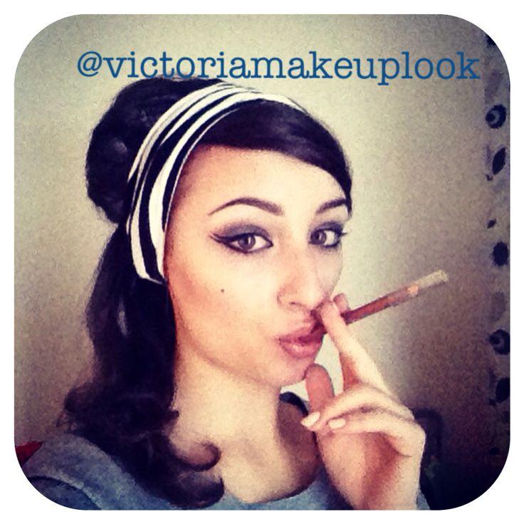 #makeup #sophialoren #cigarette