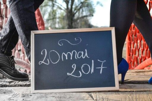 Save the date, shoes