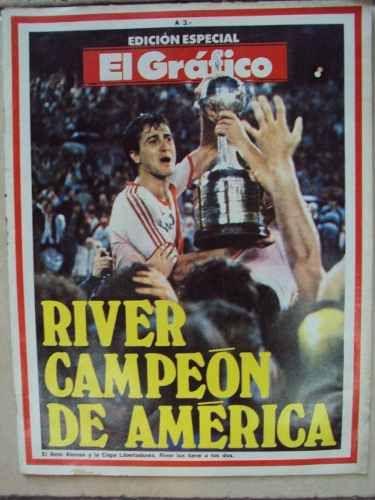 El Grafico Extra Nº 49 - River Plate Campeon De America 86