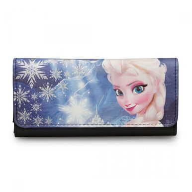 Loungefly Disney Frozen Elsa Photo Real Canvas Let it Go Movie Wallet WDWA0343