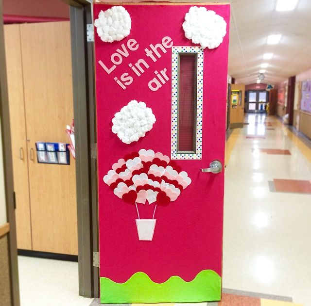 Classroom Door Decoration Ideas For Valentines Day ~ Best images about decoraciÓn puertas y pasillos on