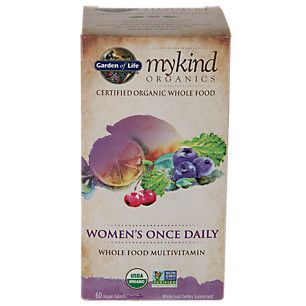 My Kind Organics Womens Once Daily Multi (60 Tablets)  by Garden of Life at the Vitamin Shoppe