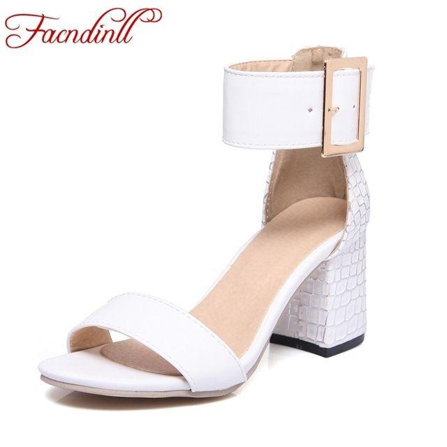 Новые 2017 краткие женская обувь на высоких каблуках летом сандалии женщин лодыжки ремень летние туфли сексуальные сандалии с открытым носком кожа насосы