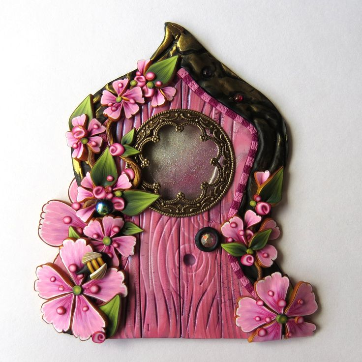 1608 best Crafty Ideas - Fairy homes / doors & gardens ...