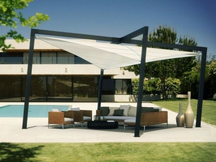 17 best pergola moderne images on pinterest pergolas arbors and decks. Black Bedroom Furniture Sets. Home Design Ideas
