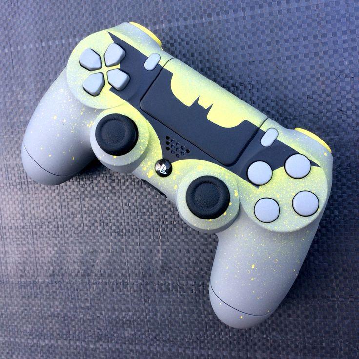 Batman PS4 controller by Gun Ink Designs.