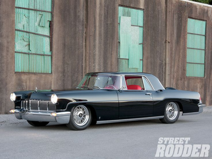 Check out this fully restored 1956 Lincoln Continental Mark II! It features a 482ci V-8 motor, custom Mark VIII seats, Classic Instrument gauges, HushMat insulation, and much more! Check out further details and pictures at Street Rodder Magazine.
